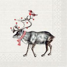 Tissue-Serviette KNUT 33 x 33 cm