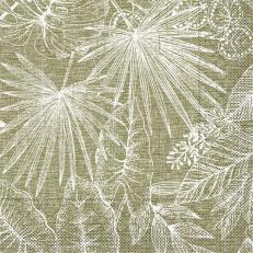 Tissue-Serviette KONA BRAUN 40 x 40 cm
