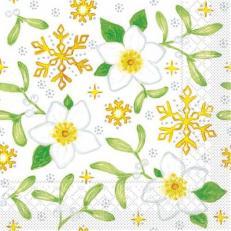 Tissue-Serviette MISTLETOE 33 x 33 cm