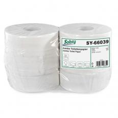 WC-Grossrolle Recyclingpapier, geprägt, 2-lag., Ø 25 cm