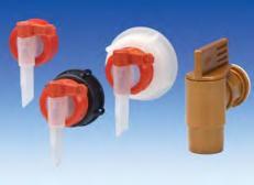 Verschluss mit Auslaufhahn für 12 Liter Kanister