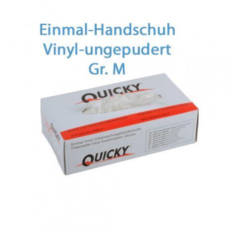 Vinyl Schutzhandschuhe puderfrei; Größe M; 100 Stk. im Pack
