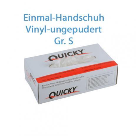 Vinyl Schutzhandschuhe puderfrei; Größe S; 100 Stk. im Pack