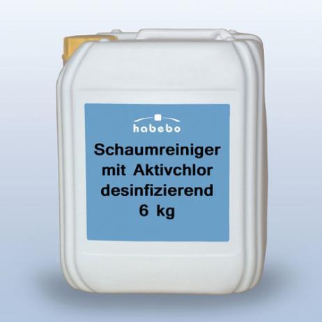 Schaumreiniger mit Aktivchlor, 6 kg * *