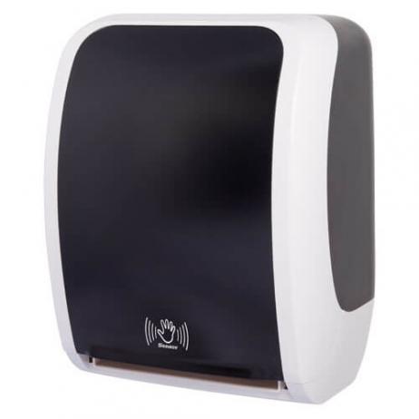 Sensor-Handtuchspender COSMOS schwarz/weiss