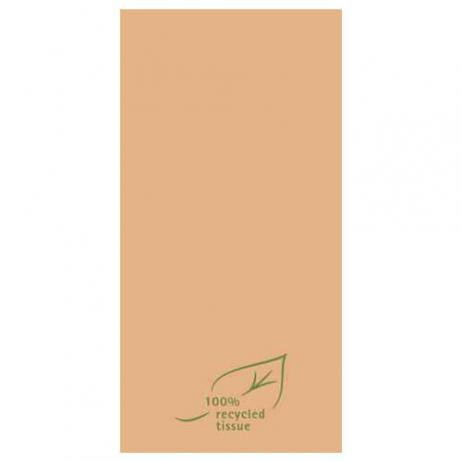 Softpoint-Serviette BRAUN  100% recycled tissue 40 x 40 cm 1/8-Falz