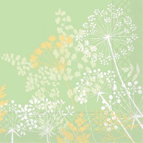 Tissue-Serviette GORDON GRÜN 40 x 40 cm